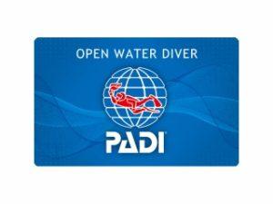 PADIオープンウォータダイバー