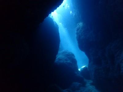 地形ダイビング