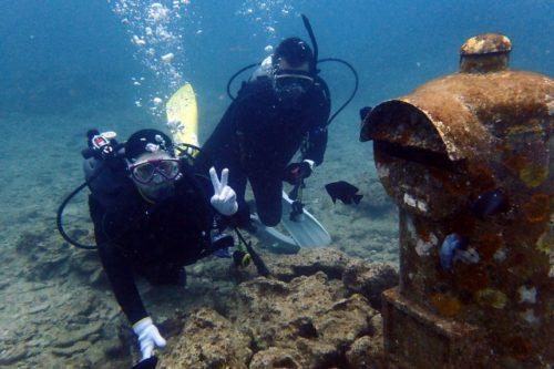 沖縄本島体験ダイビング
