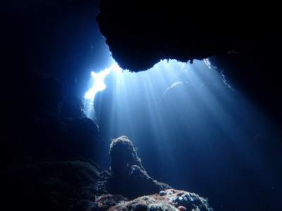 光のオーロラ