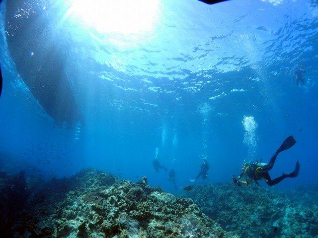 慶良間ブルーの海