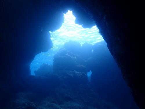 洞窟 渡嘉敷島