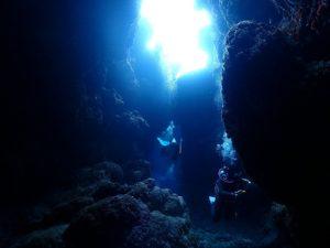 #洞窟ダイビング